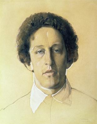 Portrait of Aleksandr Aleksandrovich Blok
