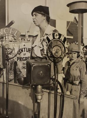 First Lady Eleanor Roosevelt at the 1933 World's Fair | Ken Burns: The Roosevelts