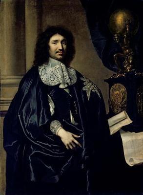 Portrait of Jean-Baptiste Colbert de Torcy