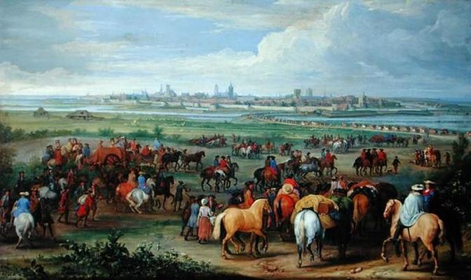 The Entrance of the French Army at Ypres, 1678
