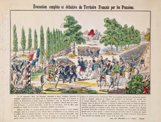 Evacuation of the French Territory by the Prussians, 16th September 1873