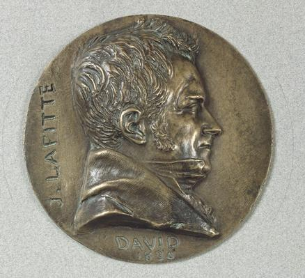 Medallion with a portrait of Jacques Lafitte