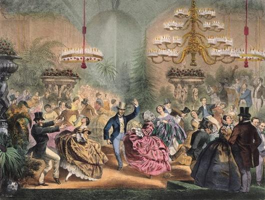 Ball in the Jardin d'Hiver, 33 Champs-Elysees, Paris, c.1865