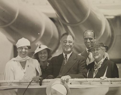 Franklin Roosevelt and His Family Aboard the USS Indianapolis, 1934 | Ken Burns: The Roosevelts