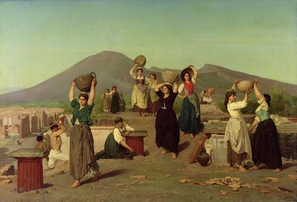 The Excavations at Pompeii, 1865