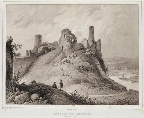 View of Berwick Castle, Berwick-upon-Tweed, engraved by Villain
