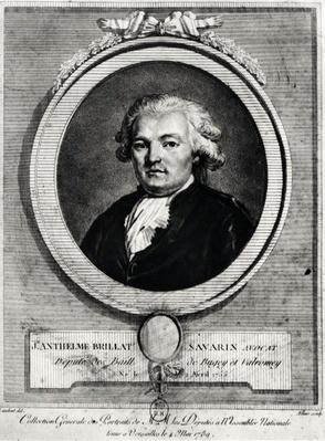 Portrait of Jean-Anthelme Brillat-Savarin