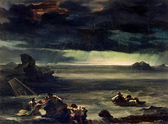 Scene of the Deluge, 1818-20