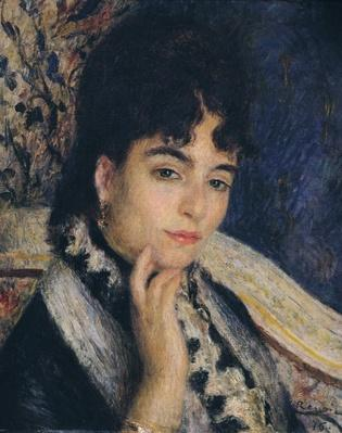 Portrait of Madame Alphonse Daudet