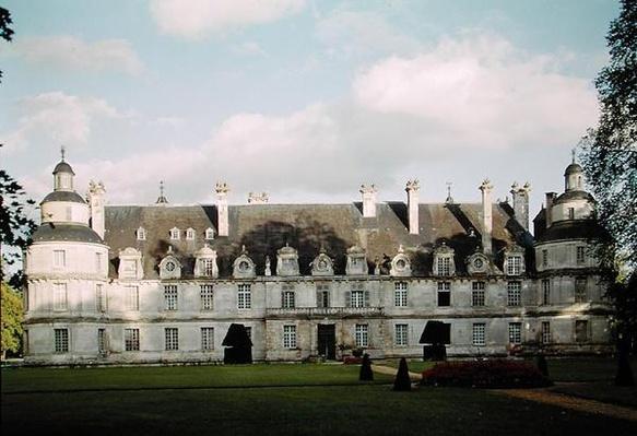 View of the garden facade, begun 1559