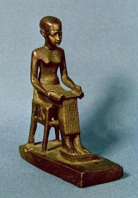 Seated statue of Imhotep