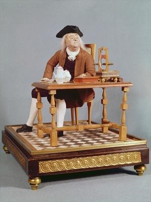 Model of Benjamin Franklin
