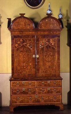 Cabinet, by S.Bennett, c.1700