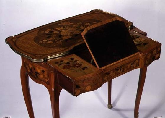 Mechanical writing table, c.1760