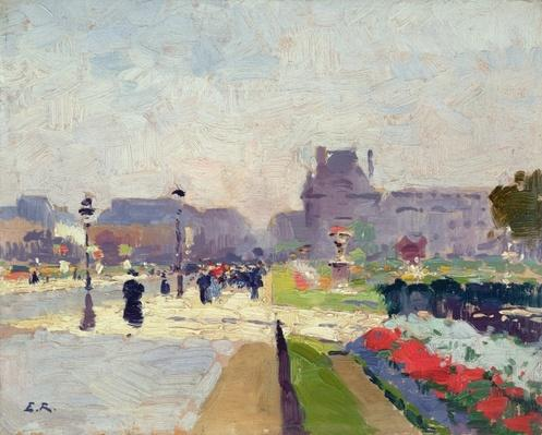 Avenue Paul Deroulede, Tuileries, Paris