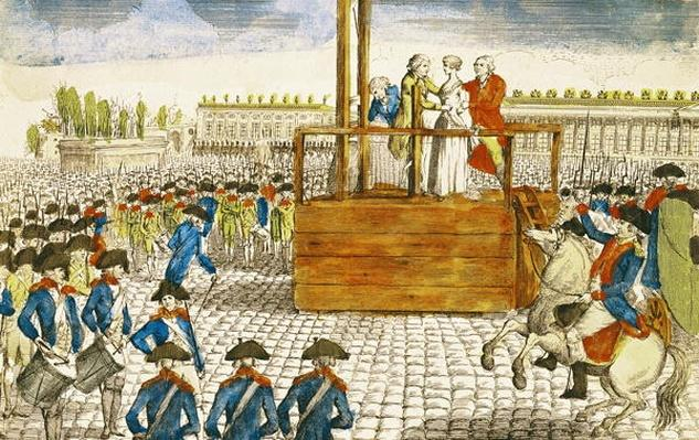 Execution of Marie-Antoinette