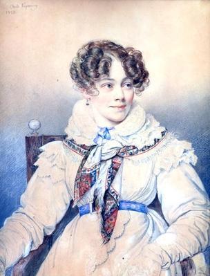 Portrait of Sophie Rostopchine