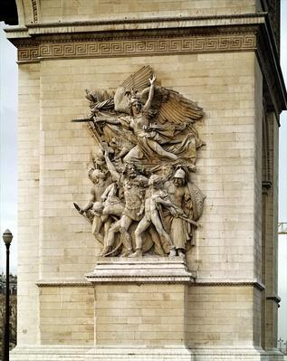 La Marseillaise, detail from the eastern face of the Arc de Triomphe, 1832-35