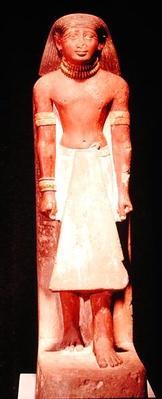 Statue of a man in a loincloth, New Kingdom