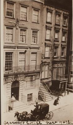 Roosevelt House, New York City, ca. 1910 | Ken Burns: The Roosevelts
