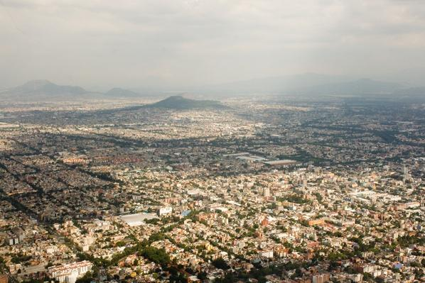 Mexico City from the air | Cityscapes | Geography 14.1