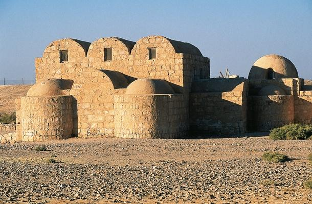 Quseir Amra or Qusayr Amra desert castle (8th century) | UNESCO World Heritage Site