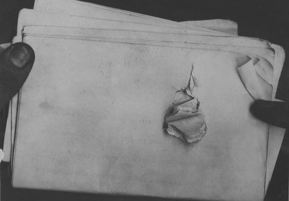 Papers in Theodore Roosevelt's Pocket When He was Shot | Ken Burns: The Roosevelts