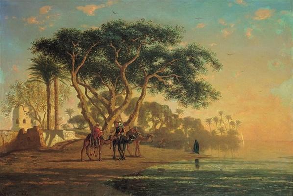 Arab Oasis, 1853