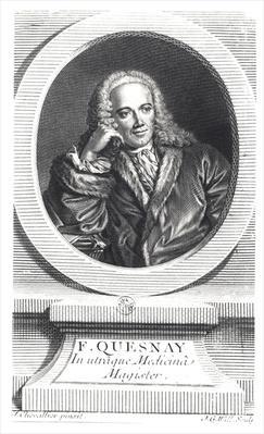 Portrait of Francois Quesnay