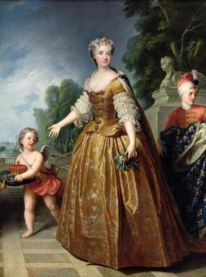 Portrait of Marie Leczinska