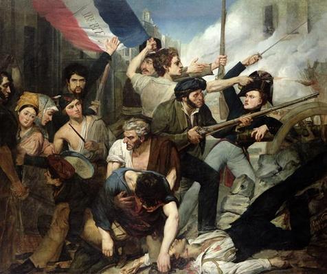 Scene of the 1830 Revolution