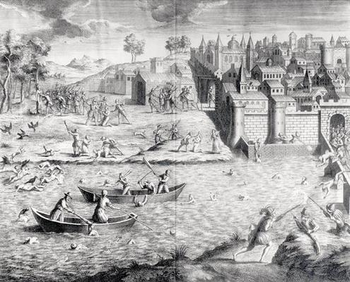 The Massacre of the Huguenots at Tours in 1562