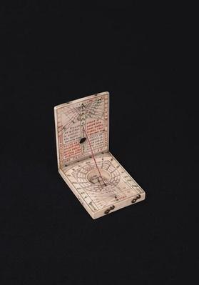 Pocket compass, 1592