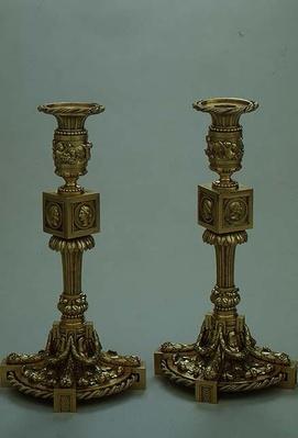 Pair of candlesticks by Boucheron, 1783