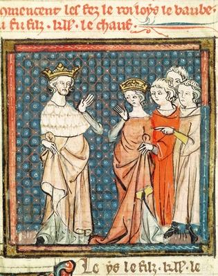 F.180r The Marriage of Louis II