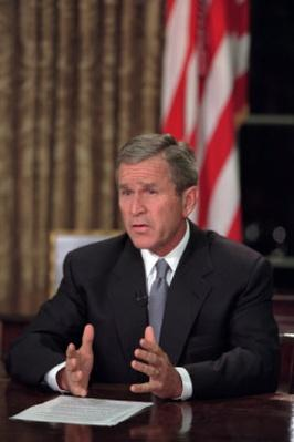 President George W. Bush's Address to the Nation