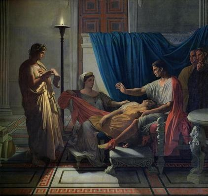 Virgil Reading the Aeneid to Livia, Octavia and Augustus, c.1812