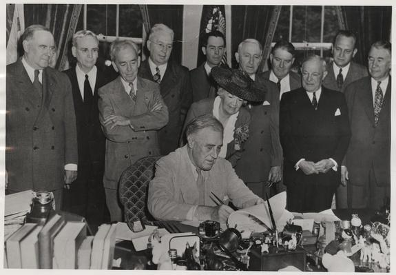 FDR Signs the GI Bill, 1944 | Ken Burns: The Roosevelts