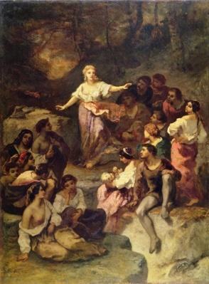 Gypsy Encampment, 1848