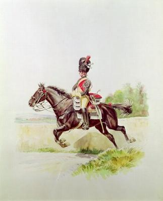 Soldier of the Imperial Guard on Horseback, 1898