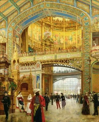 The Central Dome of the Universal Exhibition of 1889