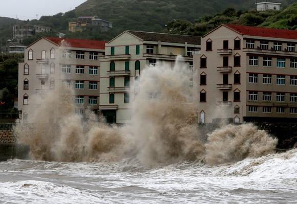 Severe Tropical Storm Trami Hits China | Weather