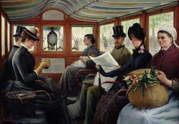 On the Omnibus, 1880