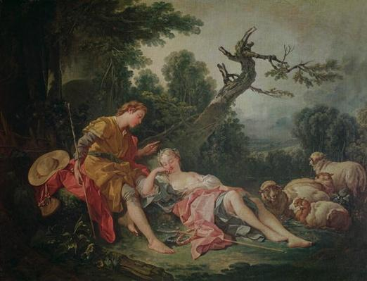 The Sleeping Shepherdess