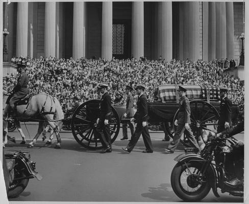 President Franklin D. Roosevelt's Funeral Cortege, April 1945 | Ken Burns: The Roosevelts