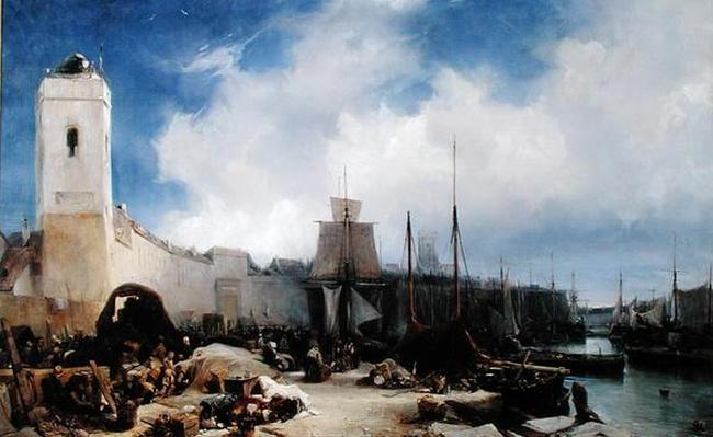 The Port of Dunkirk, 1831