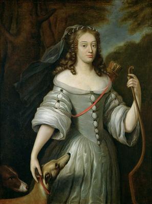 Portrait of Francoise Louise de la Baume le Blanc