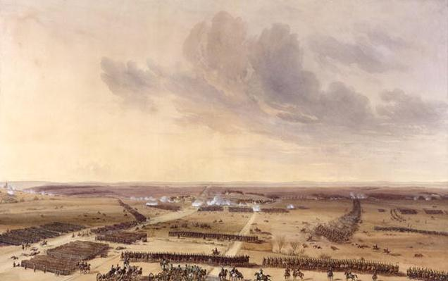 The Battle of Montmirail on the 11th February 1814