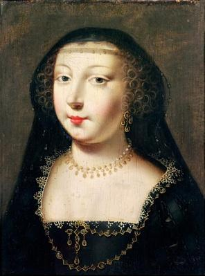 Portrait of Gabrielle d'Estrees