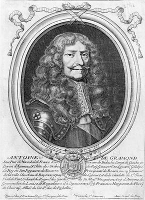 Portrait of Antoine III de Gramont